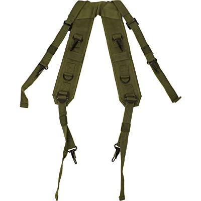 ARMYU Olive Drab Combat H Style LC-1 Military Suspenders Load Bearing Harness Backpack Straps | Kids' Backpacks