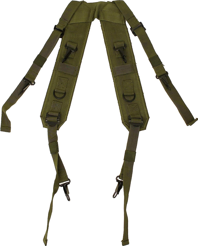Olive Drab Combat H Estilo Militar LC-1 tirantes correas de ...