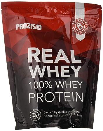 Prozis 100% Real Whey Protein 1000 g: Suplemento puro en polvo. Disfruta del batido con sabor a Fresa y Kiwi más delicioso del mercado.