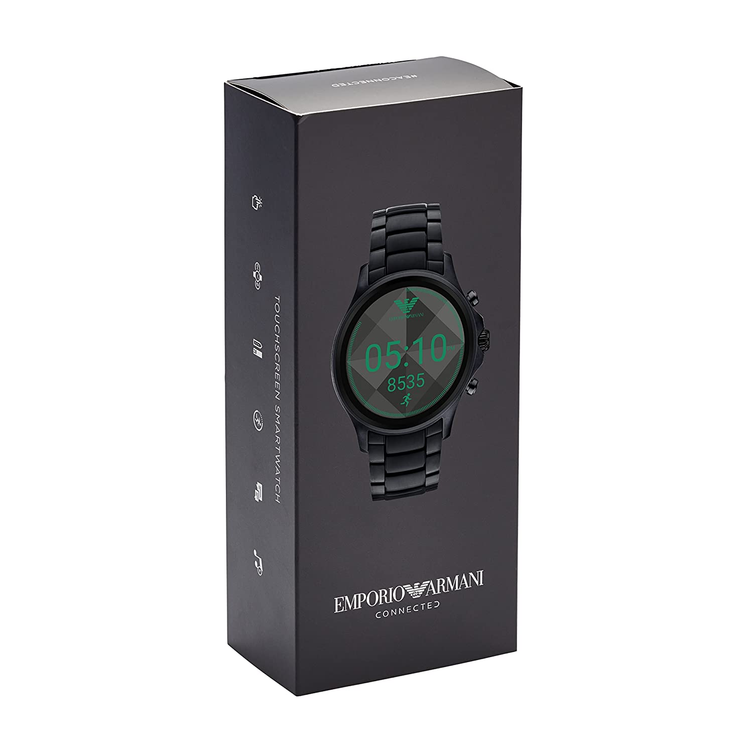 45e87f2cfa5 Buy Emporio Armani Display Watch Digital Black Dial Men s Watch - ART5002  Online at Low Prices in India - Amazon.in