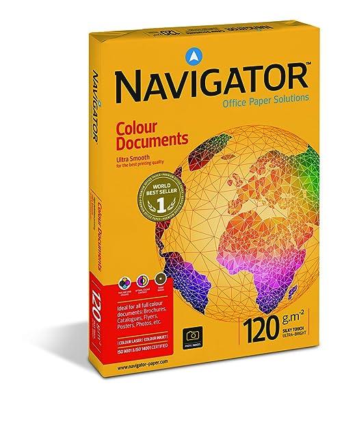 114 opinioni per Navigator Colour Documents Carta Premium per ufficio, Formato A4, 120 gr, risma