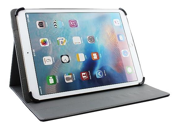 Dark Azul PU Cuero /Ángulo M/últiples Ejecutivo Folio Funda Gris Interior con Ranuras para Tarjetas Emartbuy PIPO K121 Android Tablet PC 12.2 Pulgadas Universal L/ápiz /Óptico 11-12.5 Pulgadas