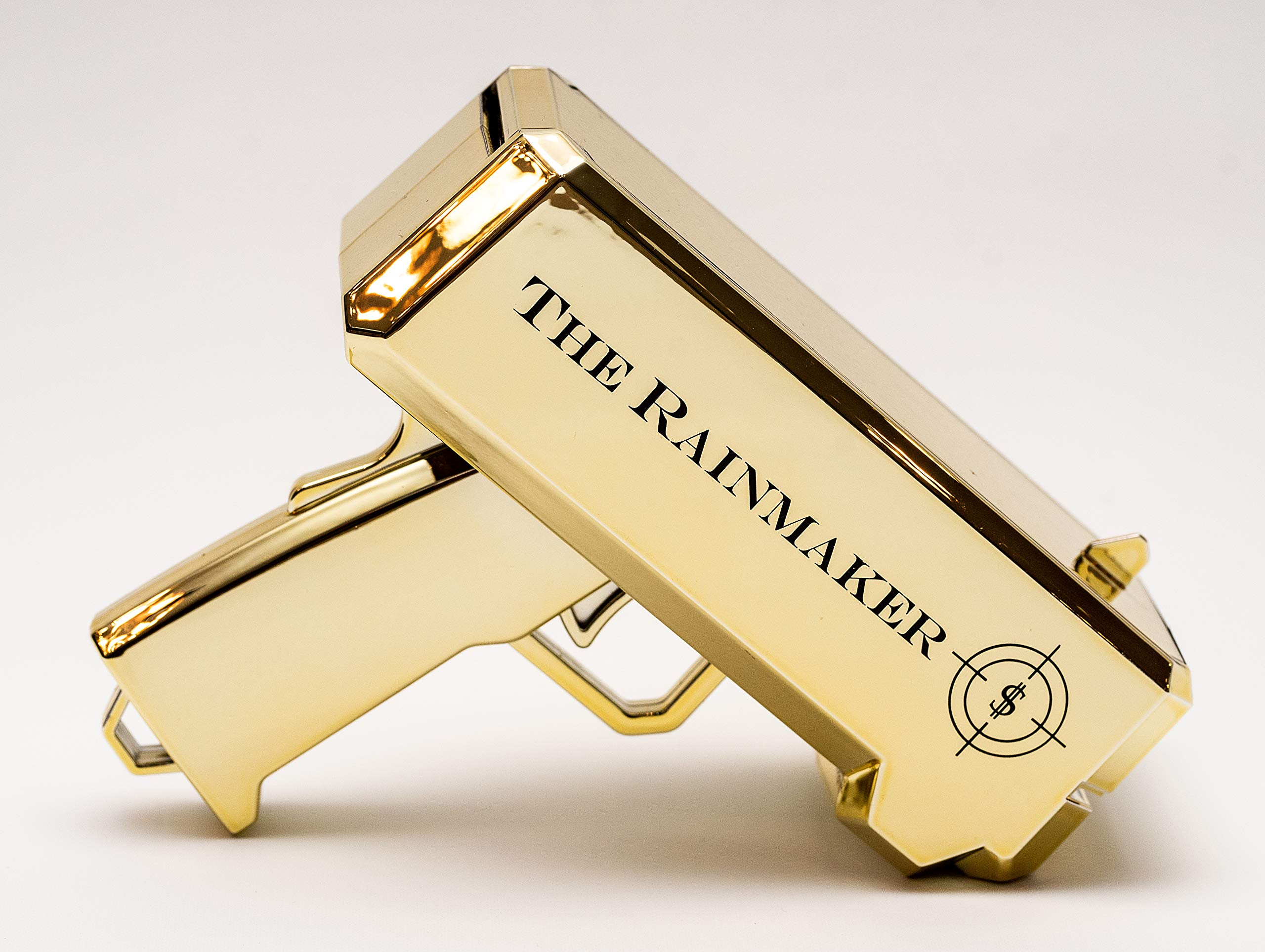 All Out Solutions The Rainmaker Money Gun | $10,000 Play Money | Money Looks Real! | Metallic Gold | Impress Your Friends with This Fun Party Toy | Shoot Cash and Make It Rain by All Out Solutions (Image #5)