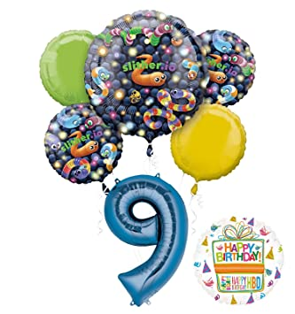 Mayflower Products Slither Io Party Supplies 9th Birthday Video Game