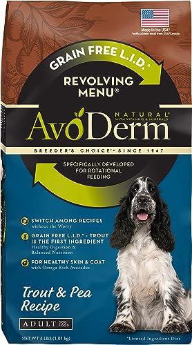 AvoDerm Natural Revolving Menu Dry Dog Food