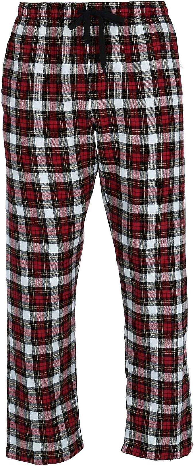 Hanes Pijama de franela para hombre