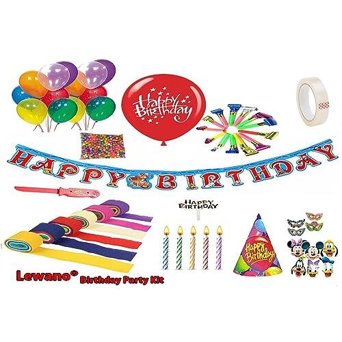 Lewano Birthday Occassion Full Room Decoration KitMulticolour