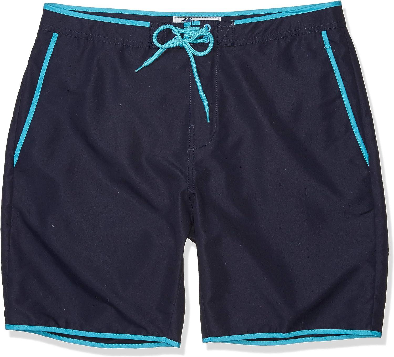 Trunks Men's Saylor 8 Inch Fixed Waist Pattern Swim