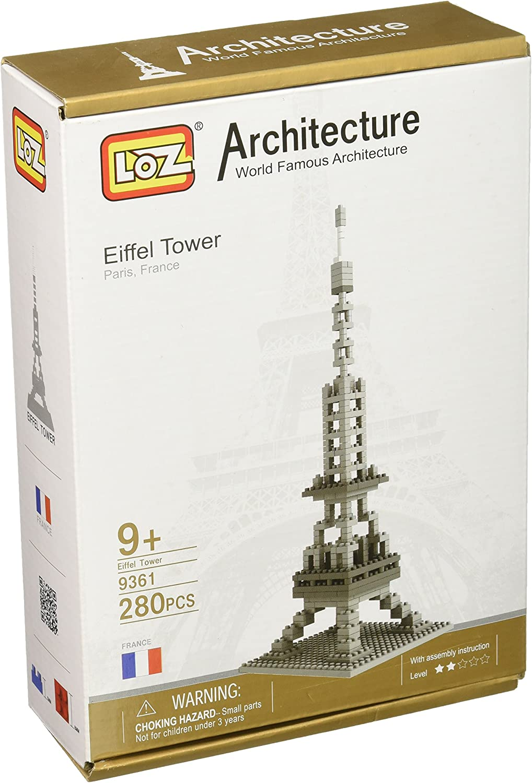 Loz Micro Blocks, Eiffel Tower Model, Small Building Block Set, Nanoblock Compatible (280 pcs), Makes a Great Stocking Stuffer by LOZ BLOCKS: Amazon.es: Juguetes y juegos