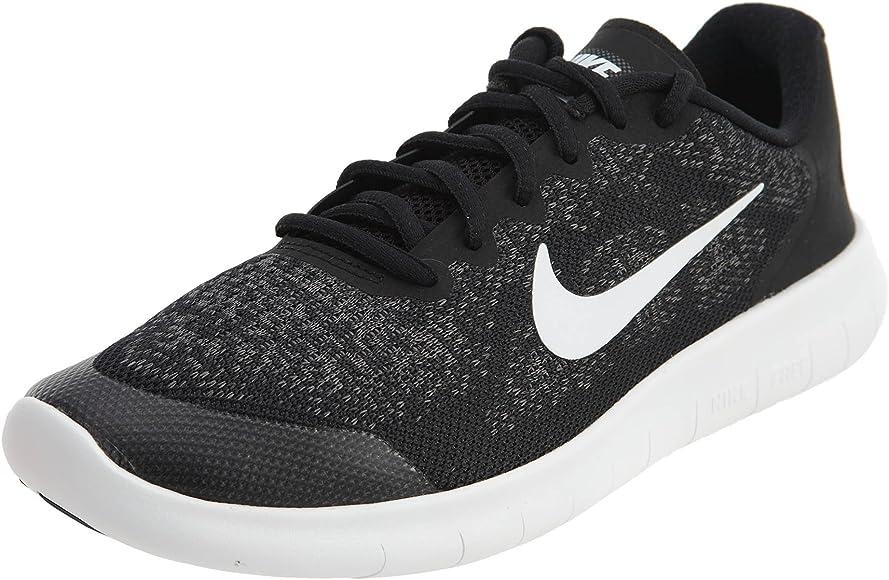 Nike Free RN 2017, Zapatillas de Entrenamiento Unisex Niños, Black White, 36.5 EU: Amazon.es: Zapatos y complementos