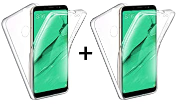 TBOC 2X Funda para Xiaomi Redmi Note 5 - Note 5 Pro: Amazon.es ...