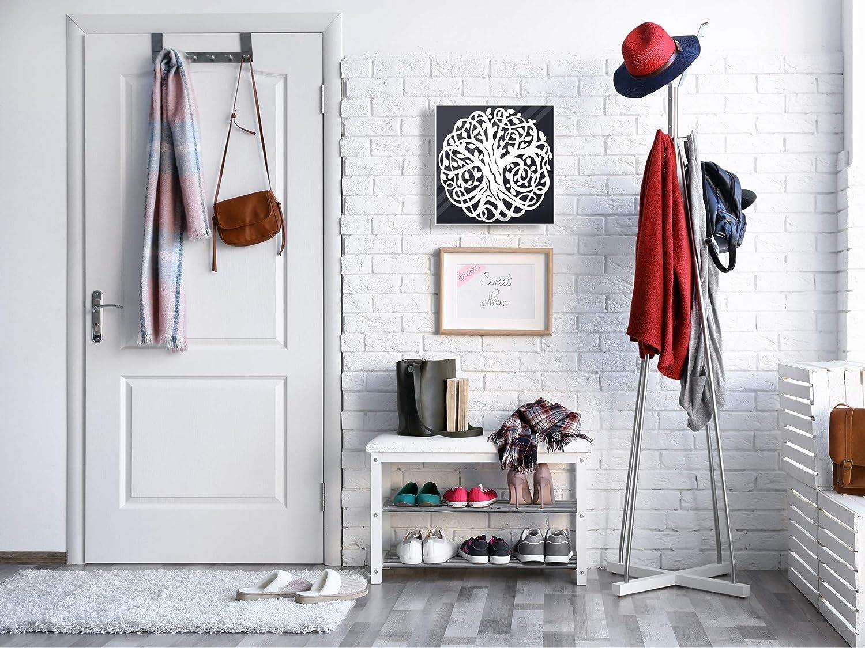 Concept Crystal Bo/îte Porte-cl/és dot/ée de 50 Crochets pour Petite Entreprise K11 Arbre/Celtique de la Vie