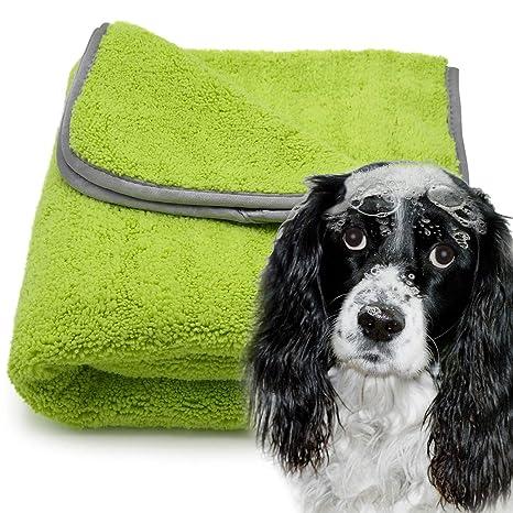 awiwa® ® ® Perros Toalla Extra Absorbente de Microfibra para Perros Grandes y pequeñas