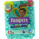 Pampers Baby Dry, Taglia 4 (7-18 kg) - Confezione da 19 Pannolini