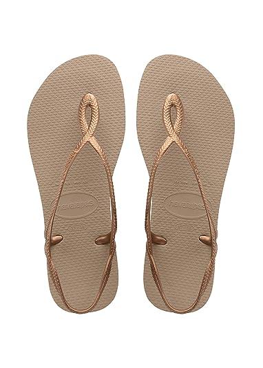 8a104d660 Havaianas Women s Luna Flip Flop  Amazon.co.uk  Shoes   Bags