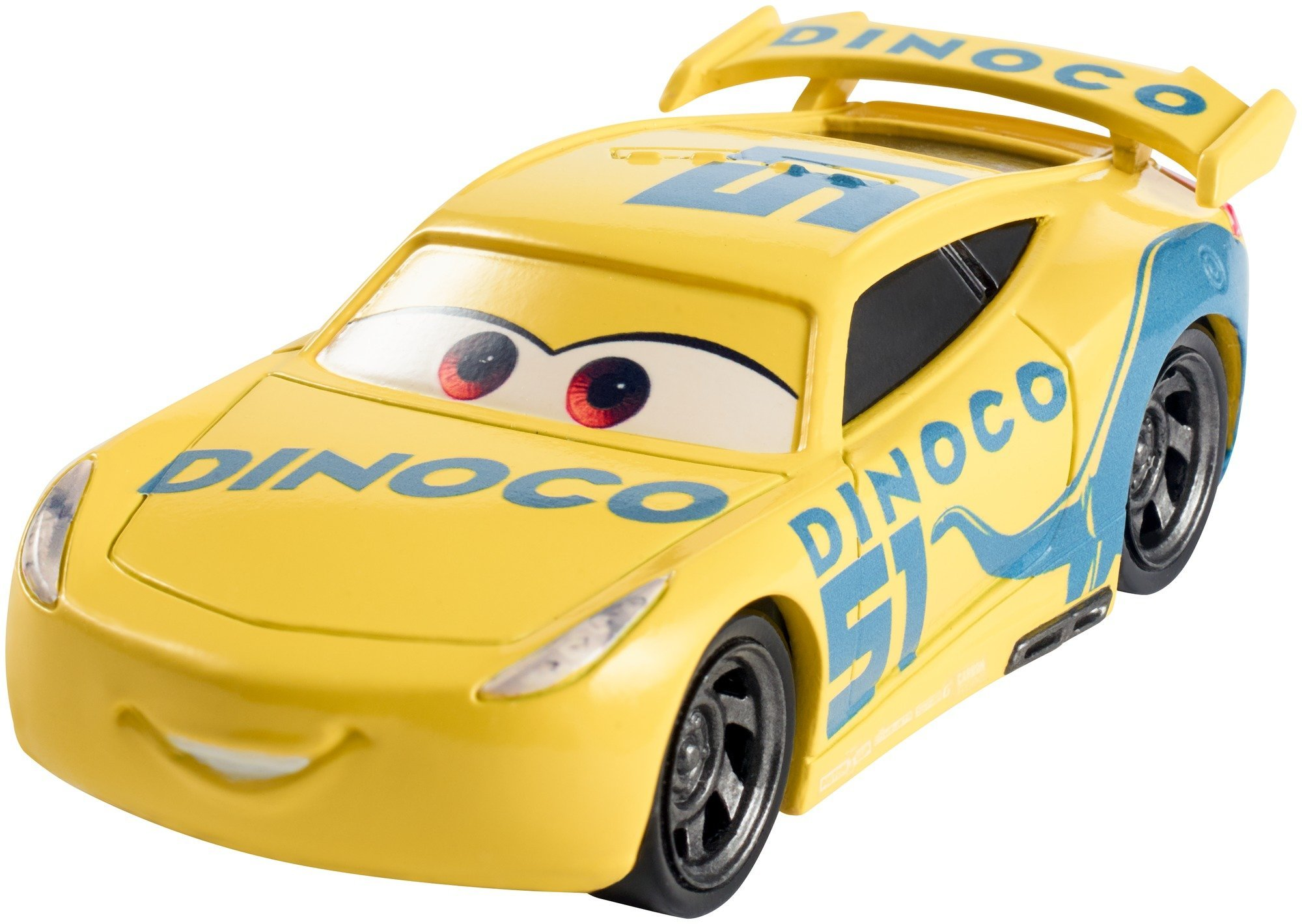 Disney DXV71 Pixar Cars 3 Dinoco Cruz Ramirez Die-Cast Vehicle [Old Model]