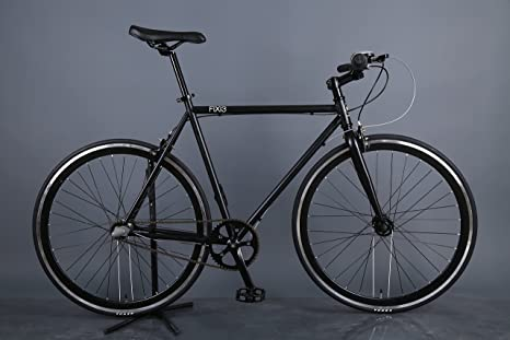 Martello fixi3 fixie-style bicicleta de 3 velocidades (negro, 56 cm): Amazon.es: Deportes y aire libre