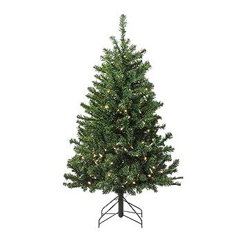 Amazon Com Northlight 4 Pre Lit Led Canadian Pine Artificial