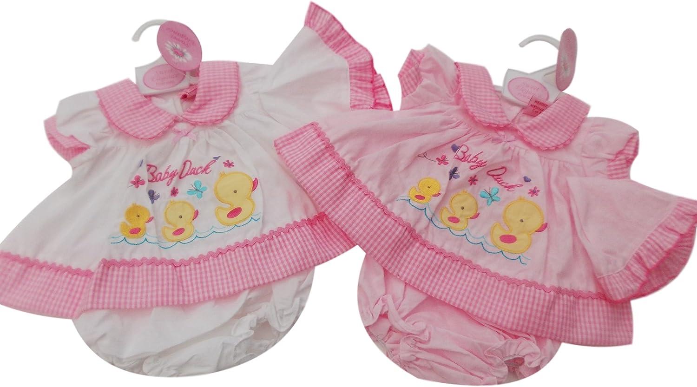 Nursery Time Premature Tiny Baby Girl Pink Elephant Dress /& Matching Pants Set 3-8lbs