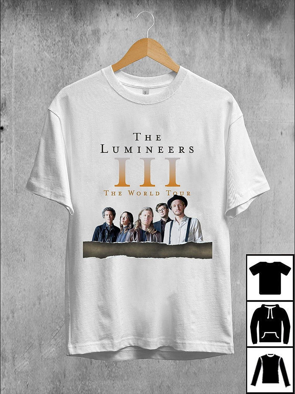Lumineers Tour 2020.Amazon Com The Lumineers Iii The World Tour 2019 2020 T