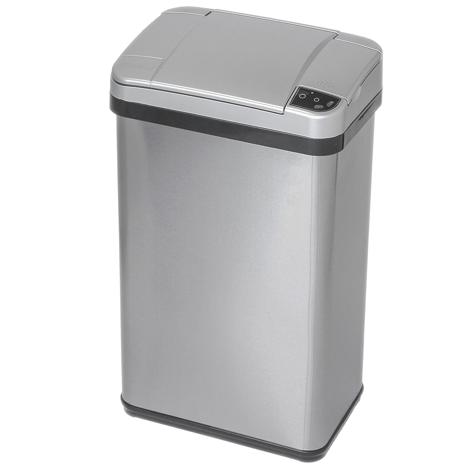 Amazon.com: ITouchless Stainless Steel Trash Can, Touchless Sensor Lid,  Odor Filter And Fragrance, 4 Gal: Home U0026 Kitchen