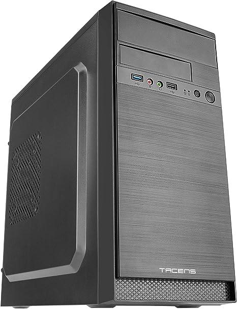 Tacens Anima AC4 - Caja de Ordenador de Sobremesa (MicroATX / Mini-ITX Minitower): Amazon.es: Informática