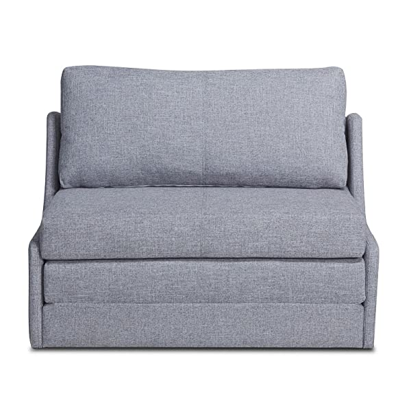 Gold Sparrow ADC-ALB-CLS-NMX-GRA Albany Convertible Loveseat Sleeper, Dark Gray