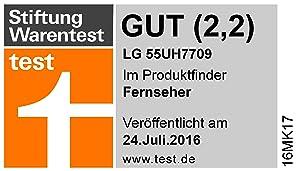 Stiftung Warentest LG 55UH7709