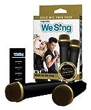We Sing Gold Top Microphone 2-Mic Bundle (PS4/Xbox One/PC/Nintendo Wii U/Mac OS X)