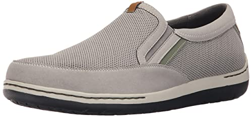 Dunham Men's Fitsync Slip On Shoe,Grey,11.5 2E US