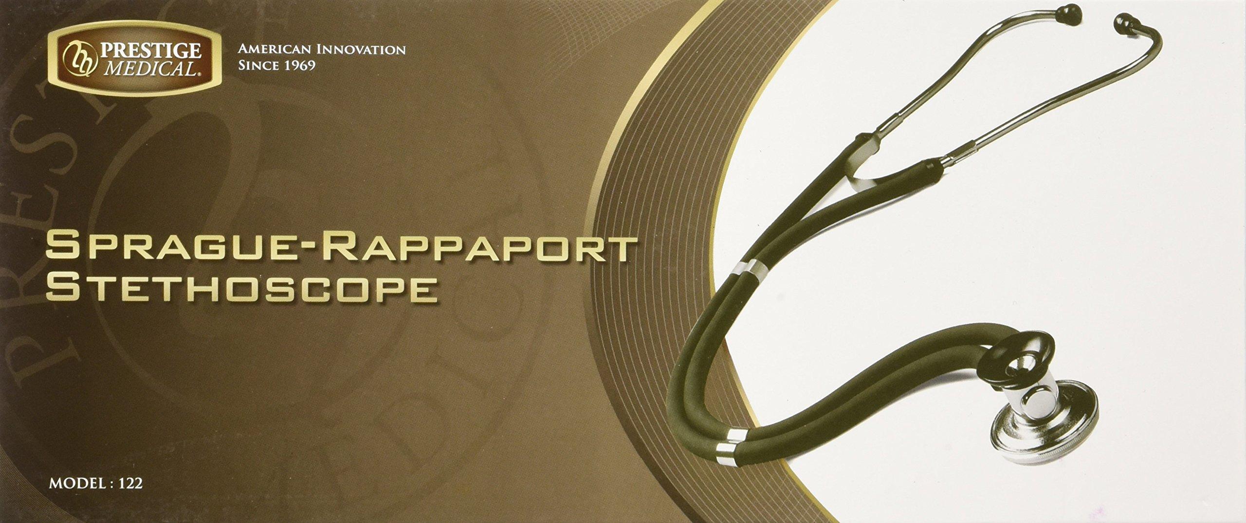 Prestige Medical 122 Sprague Stethoscope, Neon Green