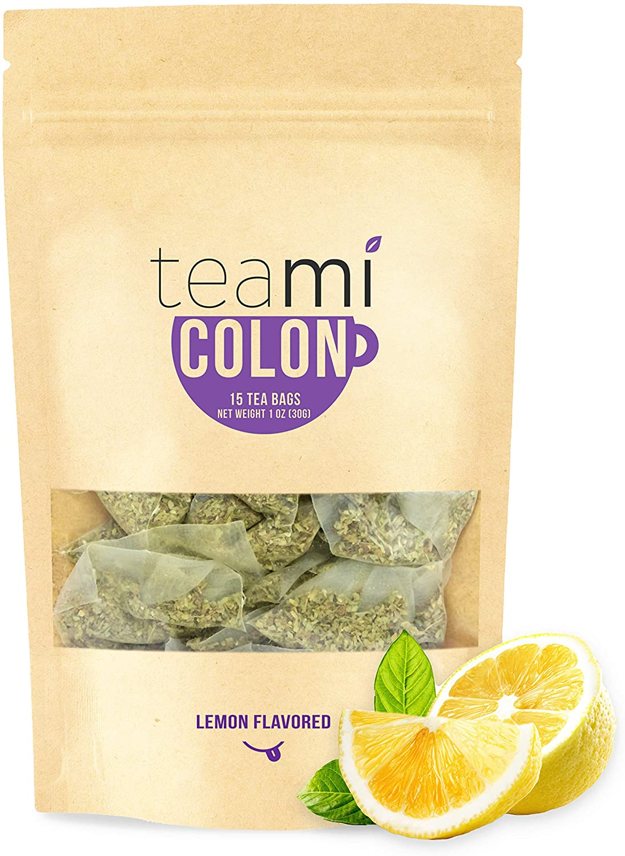 Teami® Colon Cleanse Detox Tea - 15 Tea Bags, 30 Day Supply (Lemon)