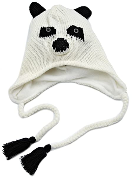 D Y Women s Animal Face Knit Hat 65f8be70122