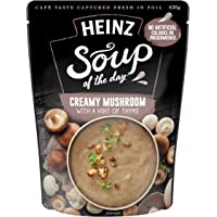 Heinz Soup of The Day Mushroom with a Hint of Thyme Soup Pouch, 430g
