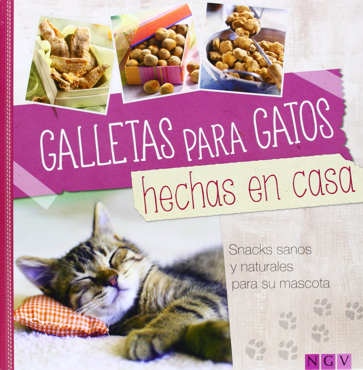 GALLETAS PARA GATOS.(HECHAS EN CASA) (Spanish) Hardcover – 2014