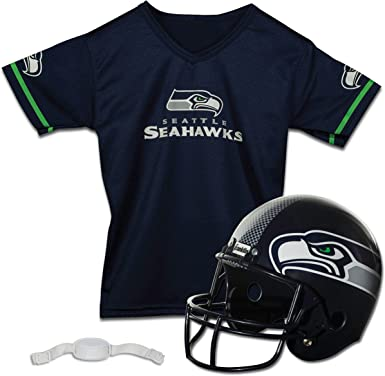 NFL Seattle Seahawks Logo T Shirt Youth 13 14 Years Boys Kids Jersey