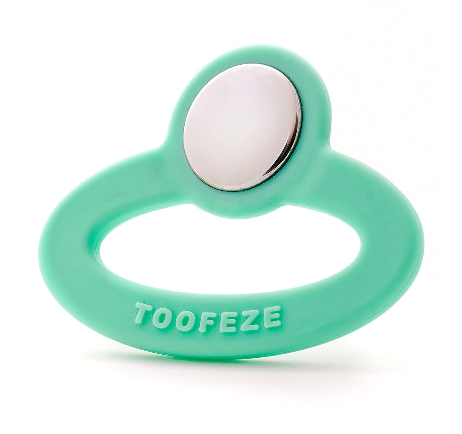 Amazon.com   Toofeze Baby Teething Toys (Mint Green)   Baby Teether Toys    Baby 4a0b2cc932