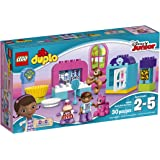 LEGO DUPLO Disney Doc McStuffins Pet Vet Care 10828, Preschool, Pre-Kindergarten Large Building Block Toys for Toddlers