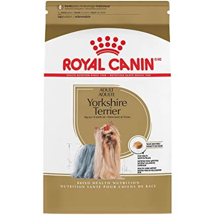 ROYAL CANIN BREED HEALTH NUTRITION Yorkshire Terrier Adult dry dog food, 10-Pound by