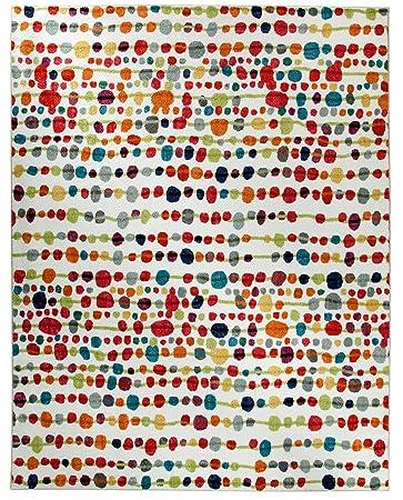 Mohawk Home Strata Delerus Dotted Printed Area Rug, 5u0027x8u0027, Multicolor