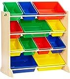 KidKraft -  Contenitore Sort It and Store It - Colori primari e bianco