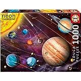 Educa 14461 - Puzzle - Neon Sonnensystem, 1000-Teilig