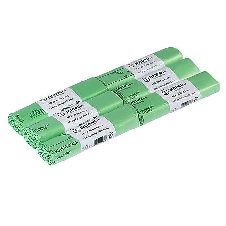 140 litros x 60 unidades bolsas de basura biodegradables que ...