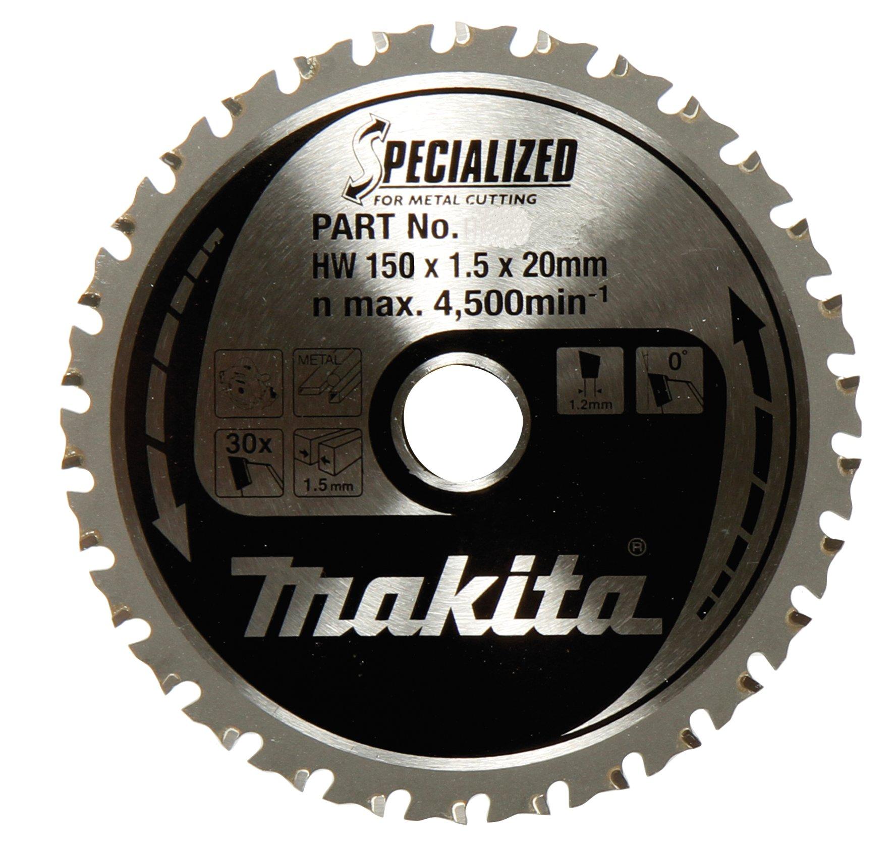 Makita A-96126 Aluminum 52T Carbide-Tipped Saw Blade, 5-7/8''