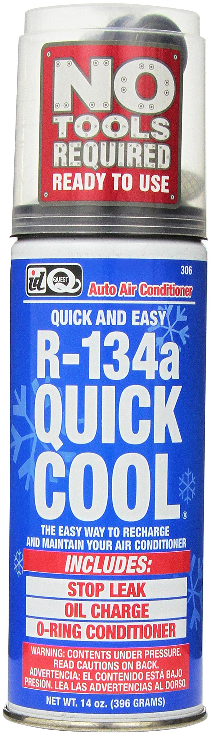 Interdynamics Certified A/C Pro R-134a With Quick Cool (14 ounces) by Interdynamics