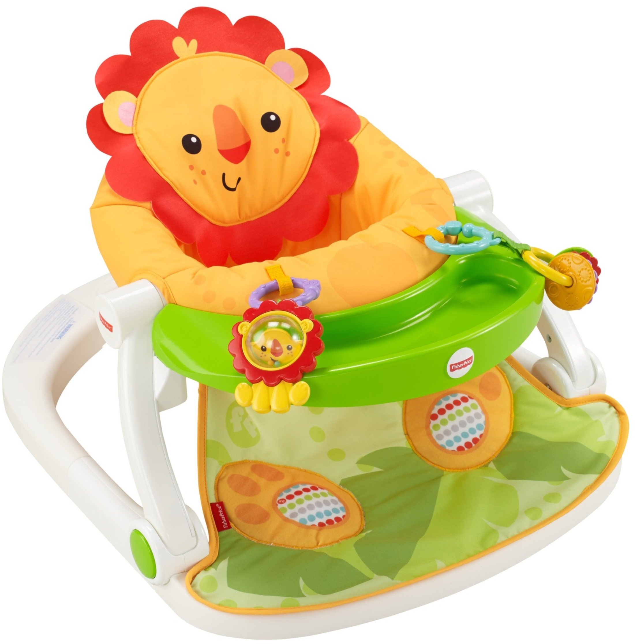 Fisher Price Fun And Fold Bouncer Baby Sweater Pria Nybh Safe Blue Import Sit Me Up Floor Seat With Tray