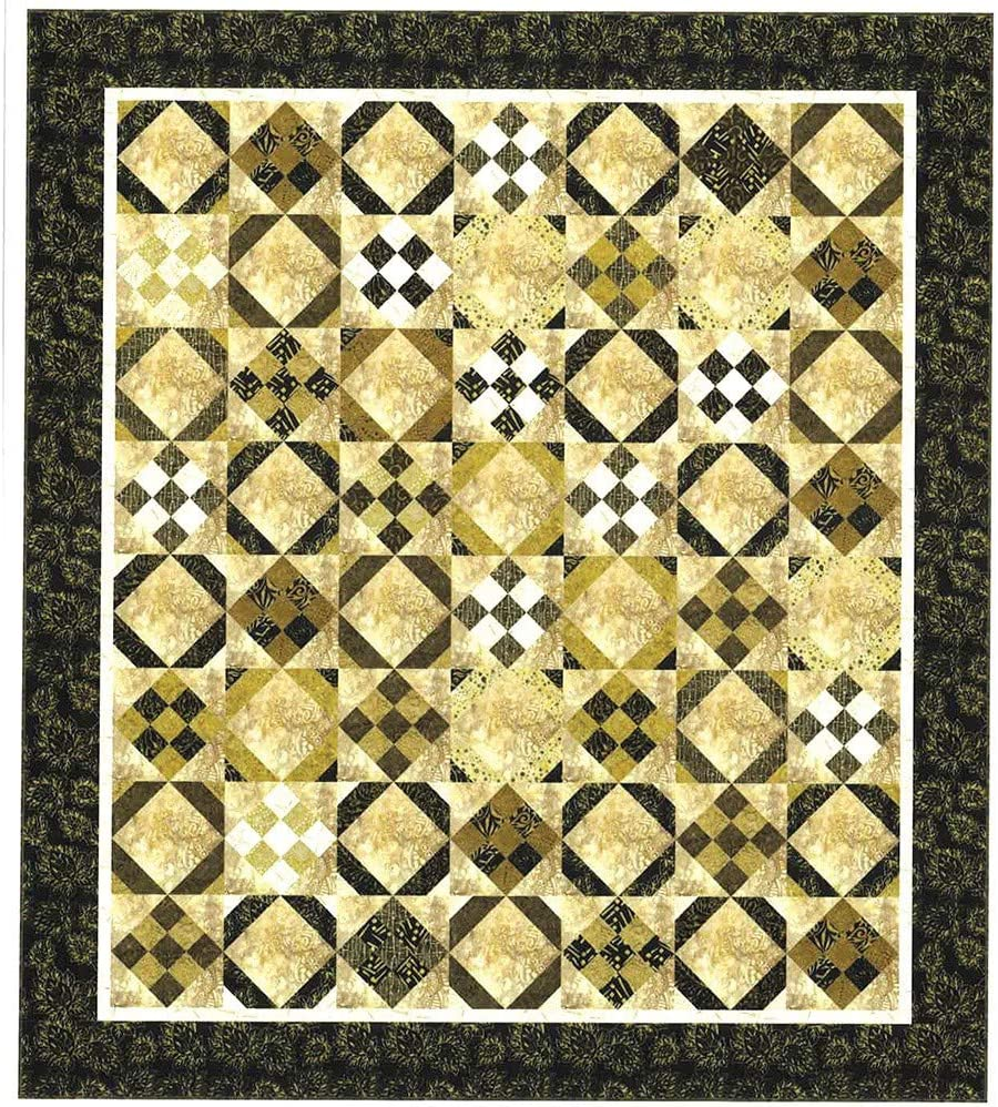 Hash Browns Quilt Pattern by Cozy Quilt Design