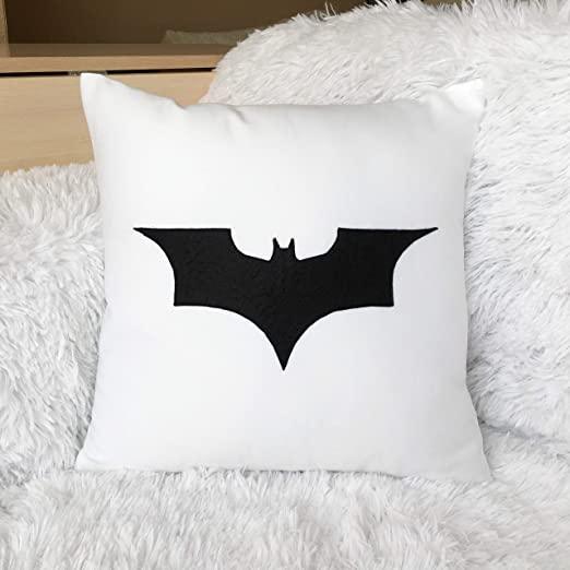 Alicert5II Batman Bat - Funda de cojín (18 x 18 cm), diseño ...