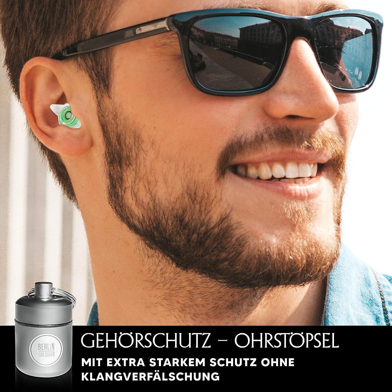 BERLIN EAR GUARD®OHRSTÖPSELKONZERT /& SCHLAFENGehörschutz gegen Lärm