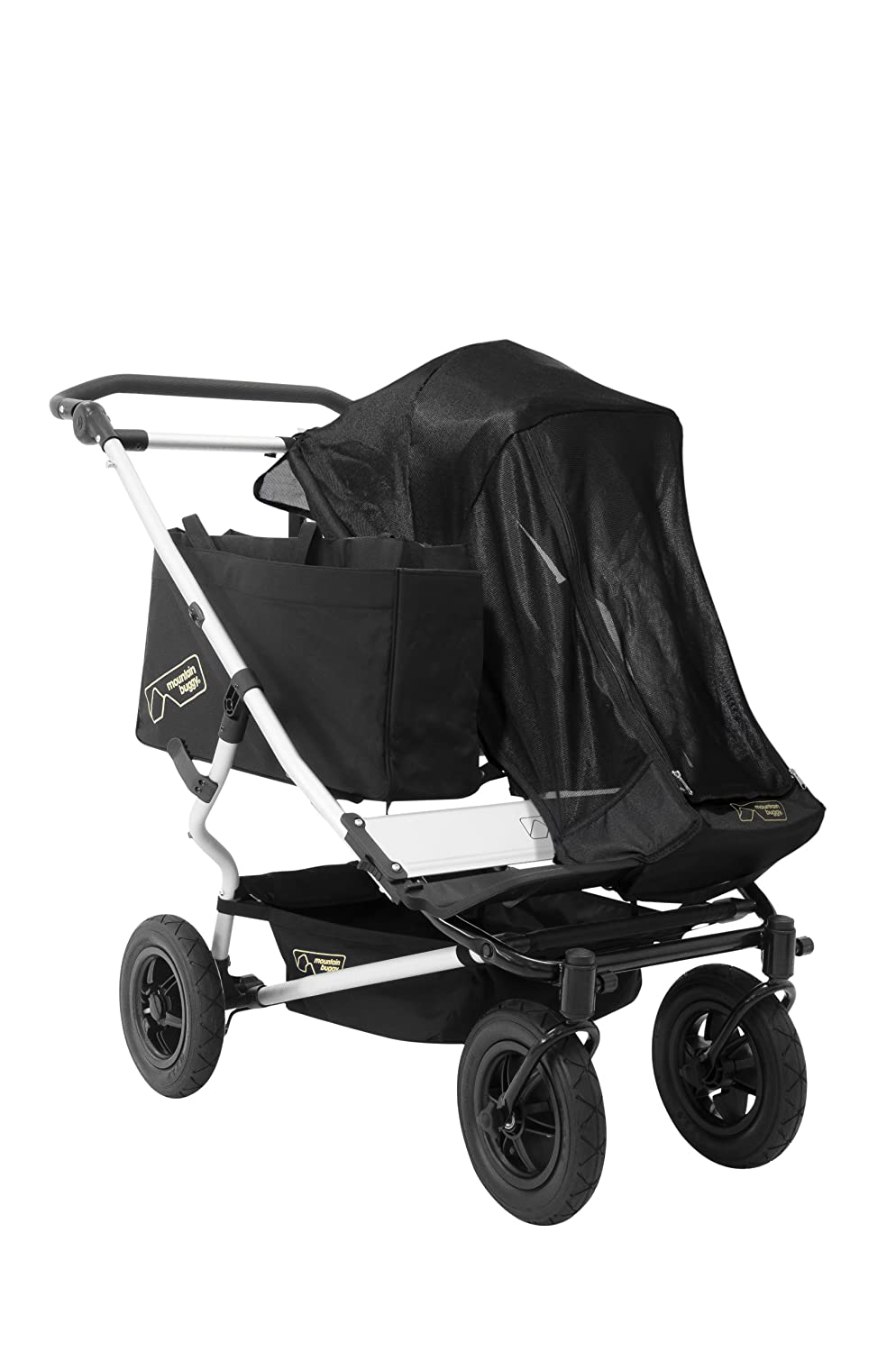 Mountain Buggy Single Sun Cover for Duet Double Stroller, Black MB1-S2SM1___200_USA